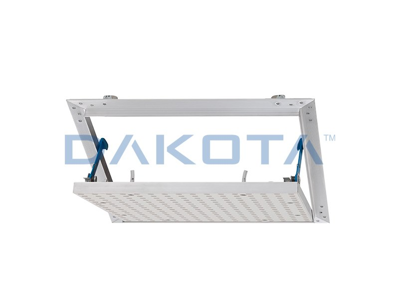 Plasterboard inspection chamber ALUNOVA PREFORATA by Dakota