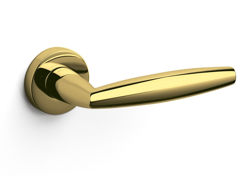 Brass door handle AURELIA | Door handle by OLIVARI