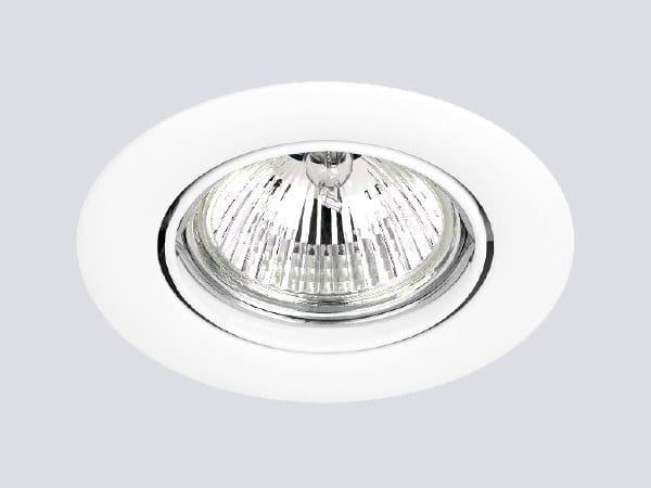 Adjustable recessed Zamak spotlight 120 by ONOK Lighting