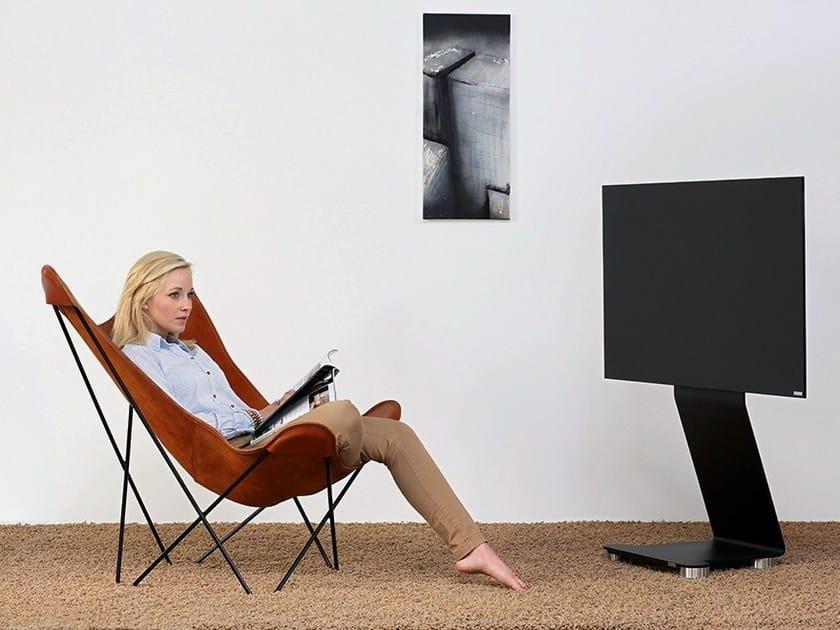 TV cabinet with casters 120 | TV cabinet by Wissmann raumobjekte