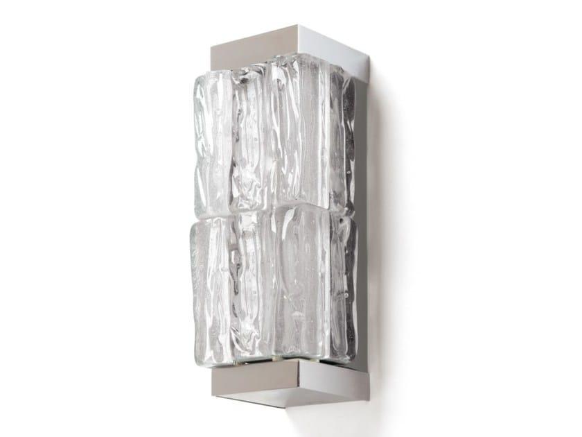 Applique a luce diretta in vetro 1208 PM   Applique by Jean Perzel