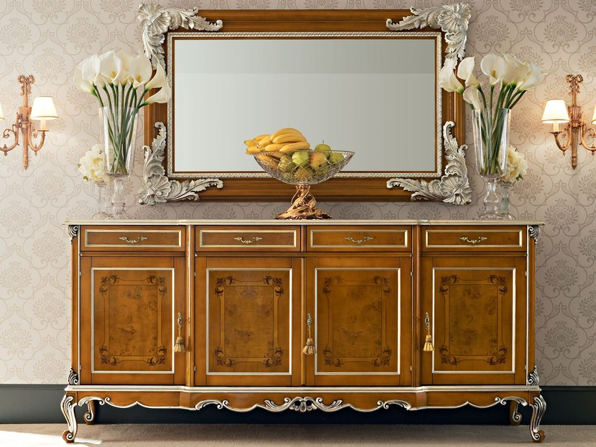 Solid wood sideboard with doors 12104 | Sideboard by Modenese Gastone