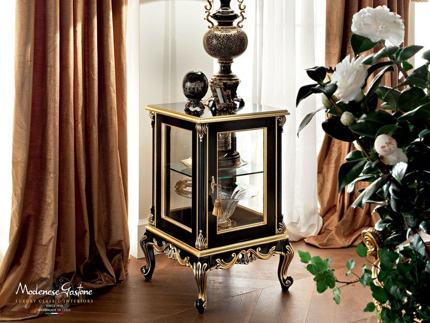 Solid wood display cabinet 12130 | Display cabinet by Modenese Gastone