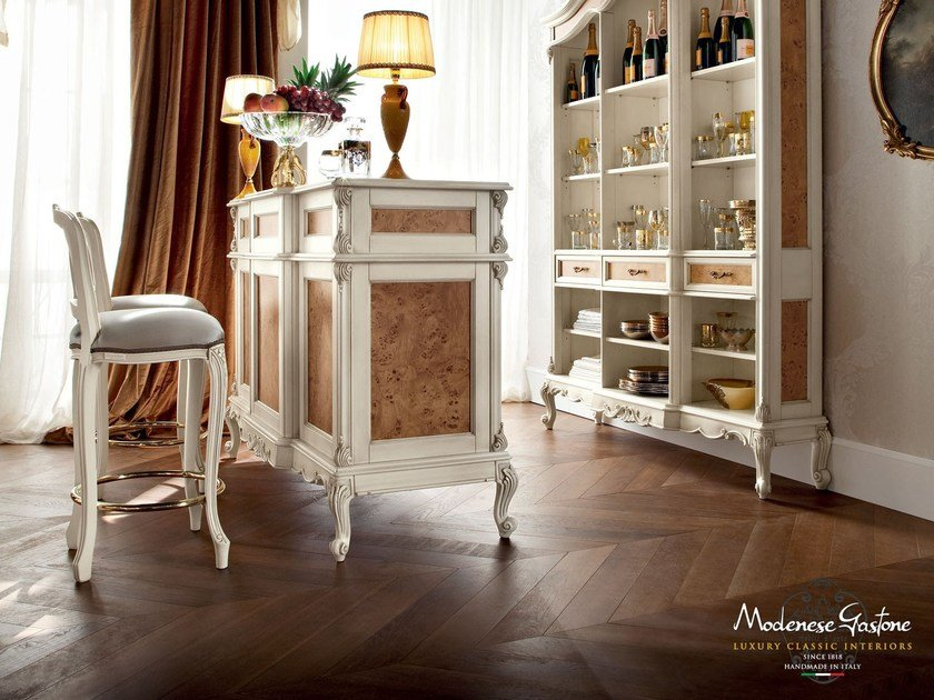 Solid wood bar cabinet 12134 | Bar cabinet by Modenese Gastone