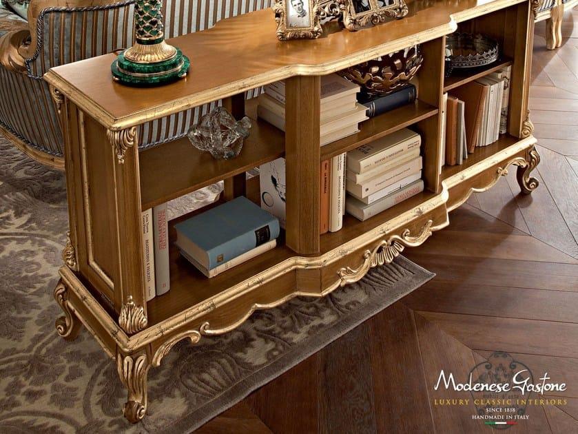 Open wooden bookcase CASANOVA | Bookcase by Modenese Gastone