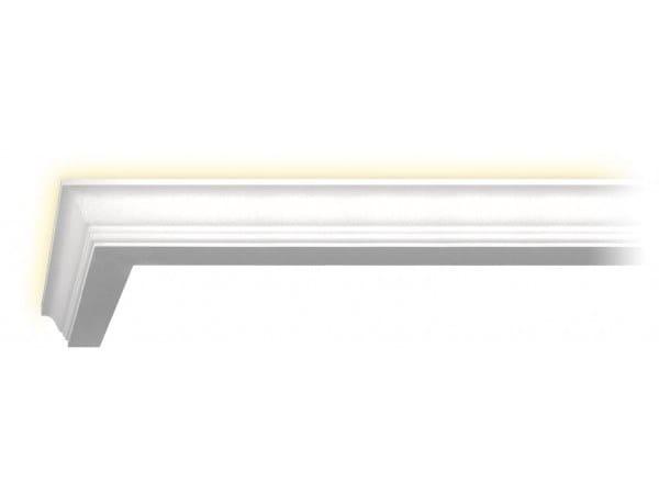 Cornice in gesso per illuminazione indiretta 124 | Cornice by GESSO