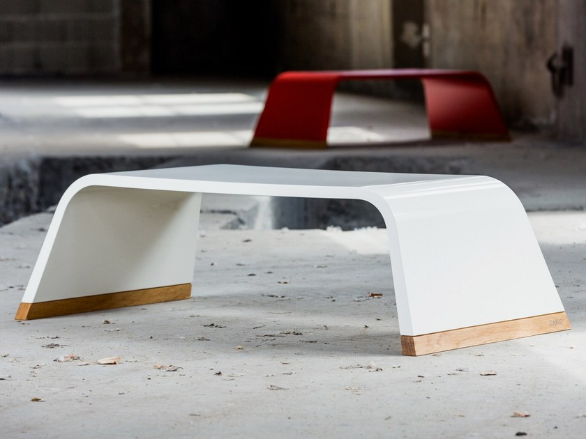 Rectangular wooden coffee table 126.RO by CHRISTOPH ZANG