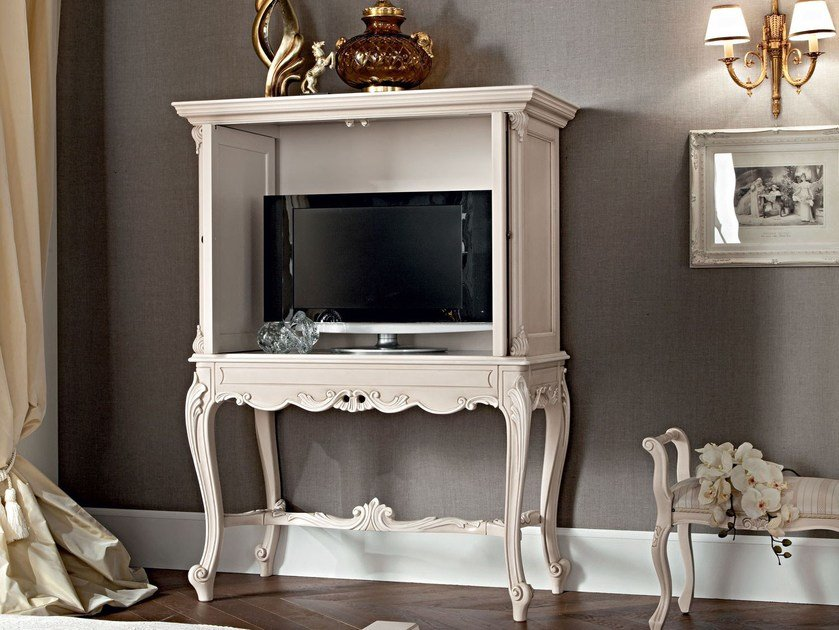 Solid wood TV cabinet 12603 | TV cabinet by Modenese Gastone