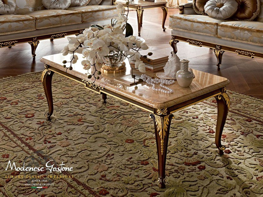 Low rectangular coffee table 12621 | Coffee table by Modenese Gastone