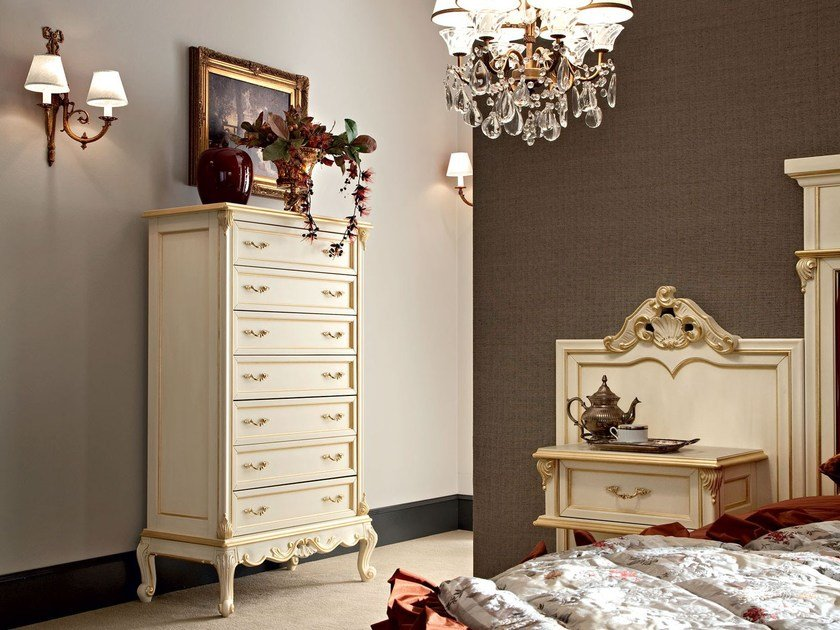 Solid wood chest of drawers 12653 | Chest of drawers by Modenese Gastone