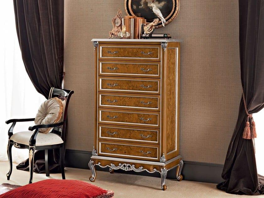 Cassettiera in legno massello 12653 cassettiera modenese gastone