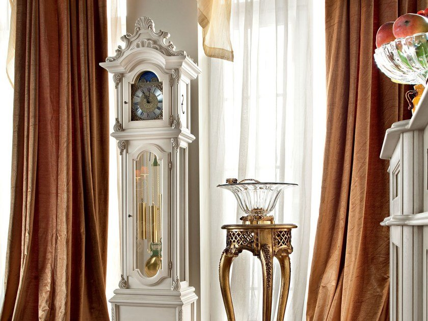 Pendulum solid wood clock 12656 | Clock by Modenese Gastone