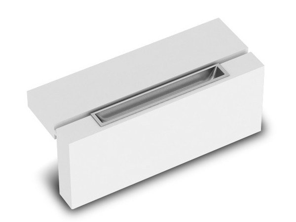 Contemporary style Recessed Furniture Handle 12884 | Furniture Handle by Cosma