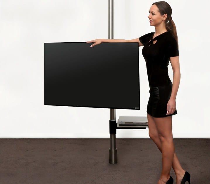 Adjustable steel TV cabinet 129 | TV cabinet by Wissmann raumobjekte