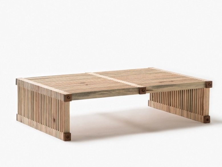 Wooden coffee table #13 | Coffee table by Linie by Cabana