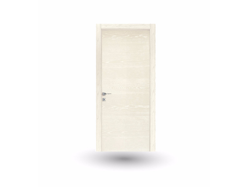 Hinged wooden door IMAGO 13 FRASSINO BIANCO by GD DORIGO
