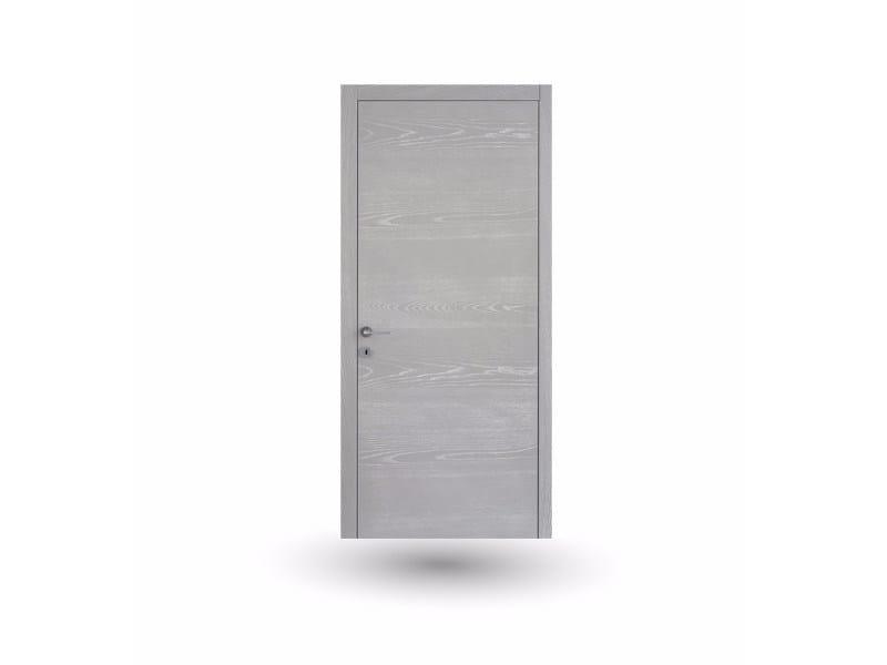 Hinged wooden door IMAGO 13 FRASSINO DECAPE' CENERE by GD DORIGO