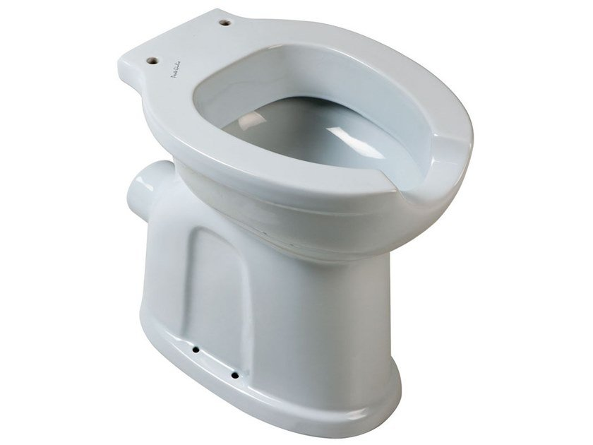 Porcelain toilet for disabled 130 | Floor mounted toilet by Ponte Giulio