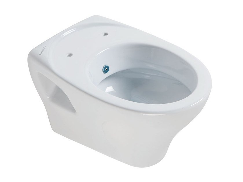 Wc bidet sospeso in porcellana 130 | Wc bidet sospeso by Ponte Giulio