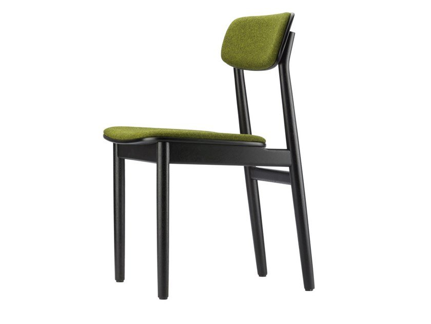 Upholstered chair 130 P by THONET