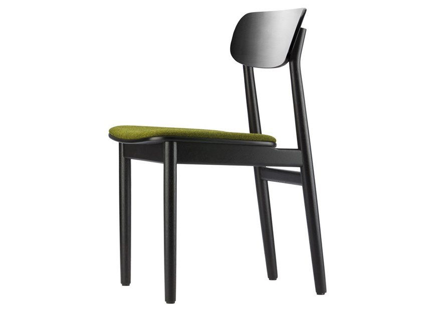 Chair with integrated cushion 130 SP by THONET