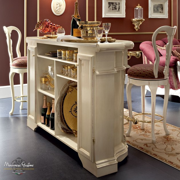 13136 | Bar counter By Modenese Gastone