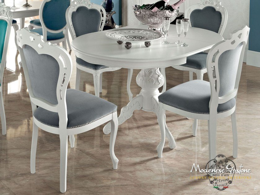 Extending round table 13145 | Table by Modenese Gastone