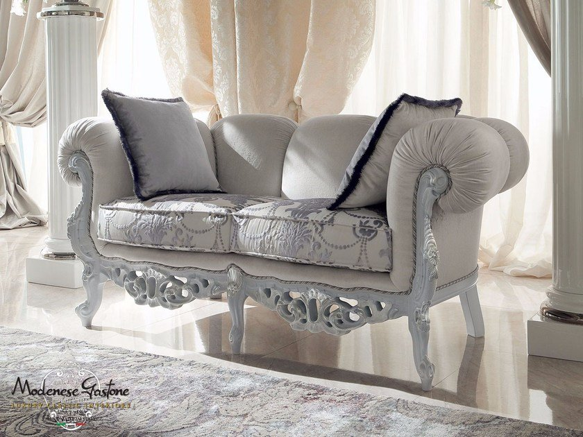 2 seater fabric sofa 13413   Sofa by Modenese Gastone