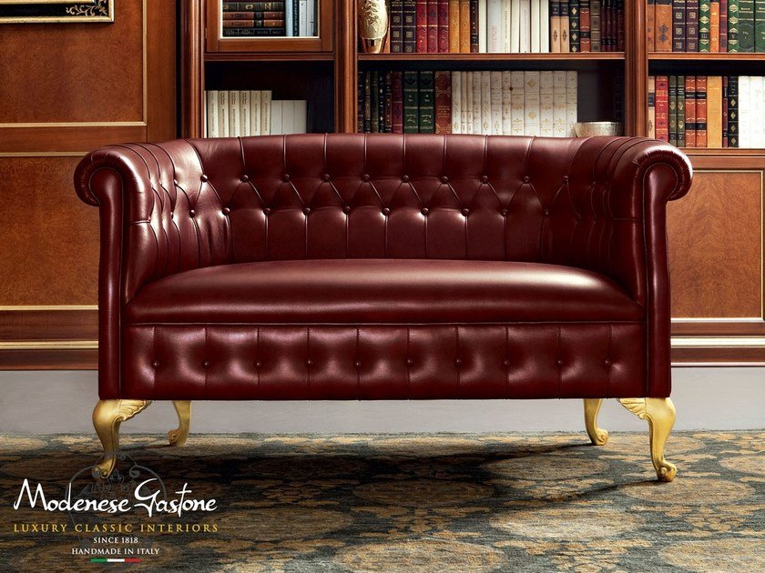 Tufted 2 seater sofa 13423 | Sofa by Modenese Gastone