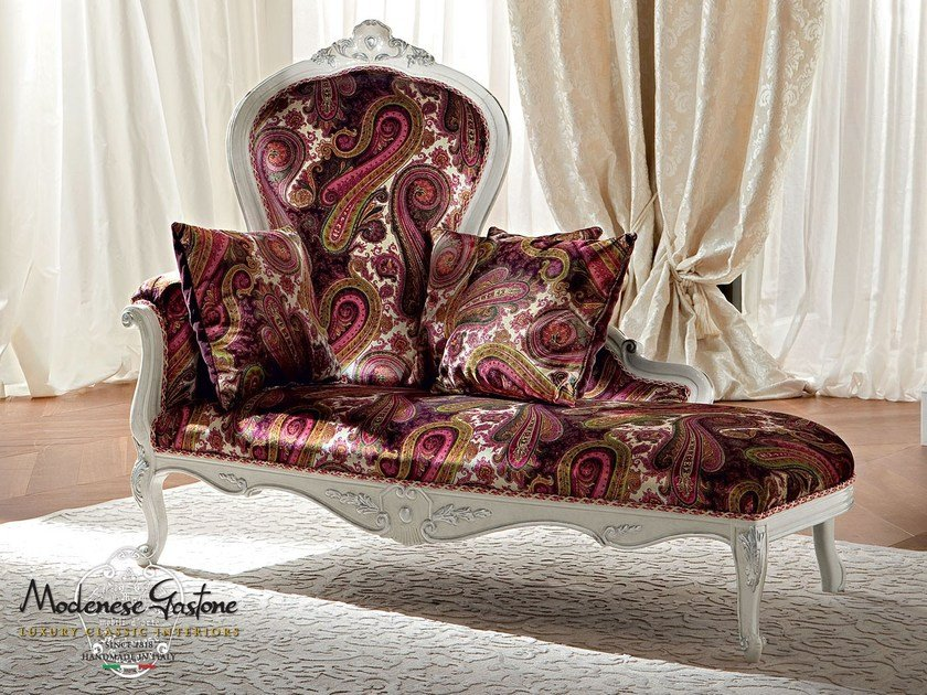 Upholstered day bed 13429 | Day bed by Modenese Gastone
