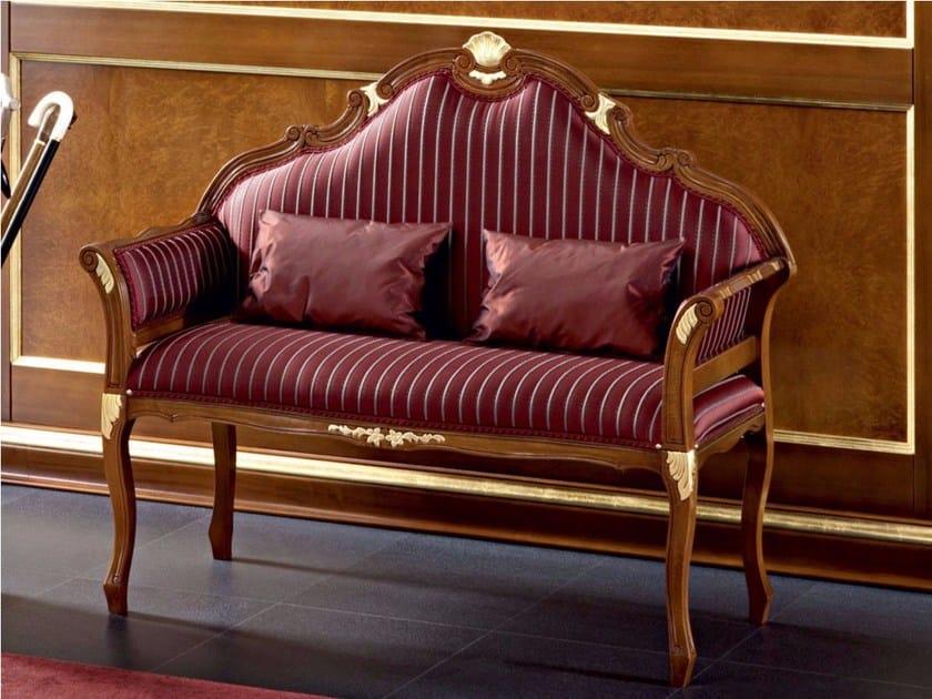 Baroque wooden small sofa 13430 | Small sofa by Modenese Gastone