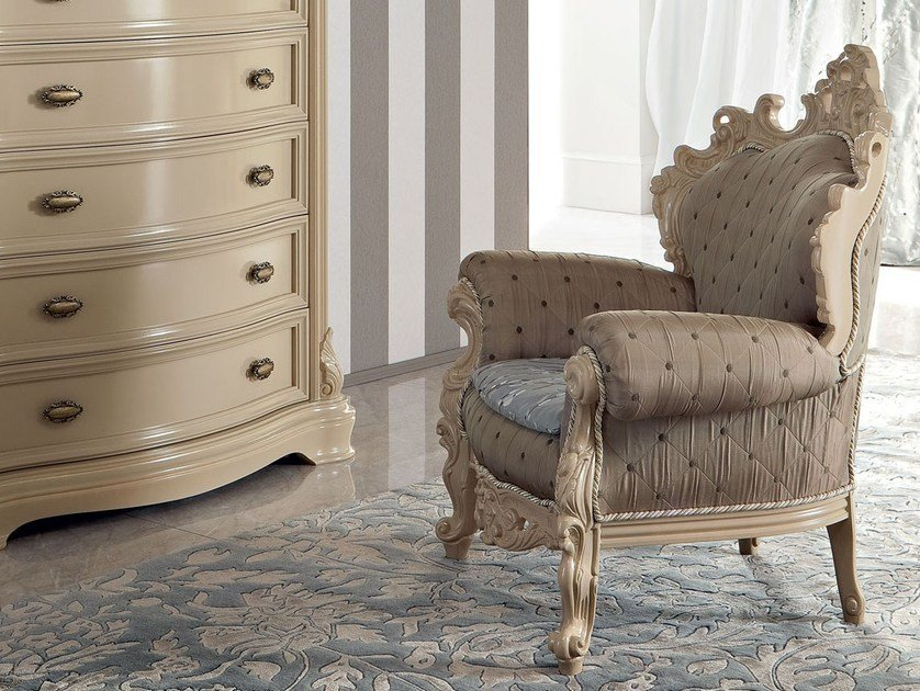 Upholstered kids armchair 13435 | Armchair by Modenese Gastone