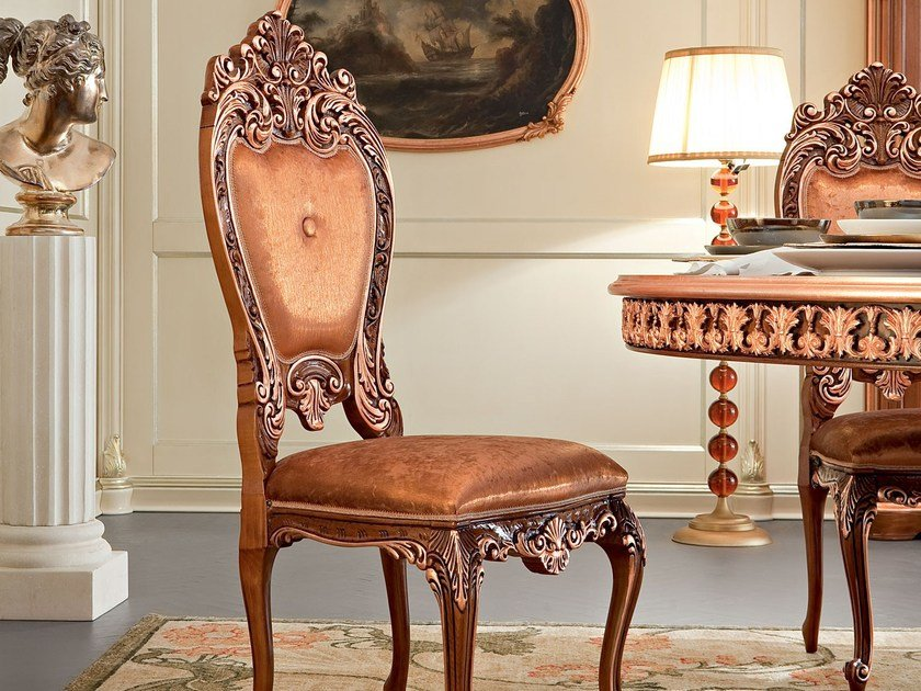 Upholstered chair 13504 | Chair by Modenese Gastone
