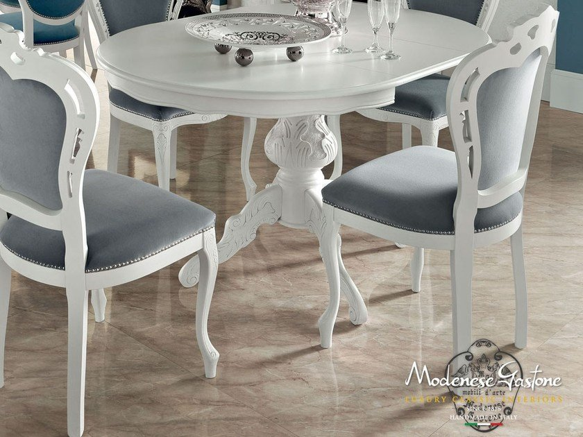 Upholstered chair 13516 | Chair by Modenese Gastone