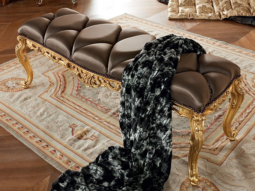 Upholstered bench 13522 | Bench by Modenese Gastone