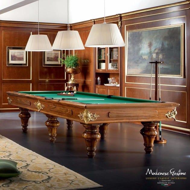 Pool Table By Modenese Gastone - Handmade pool table