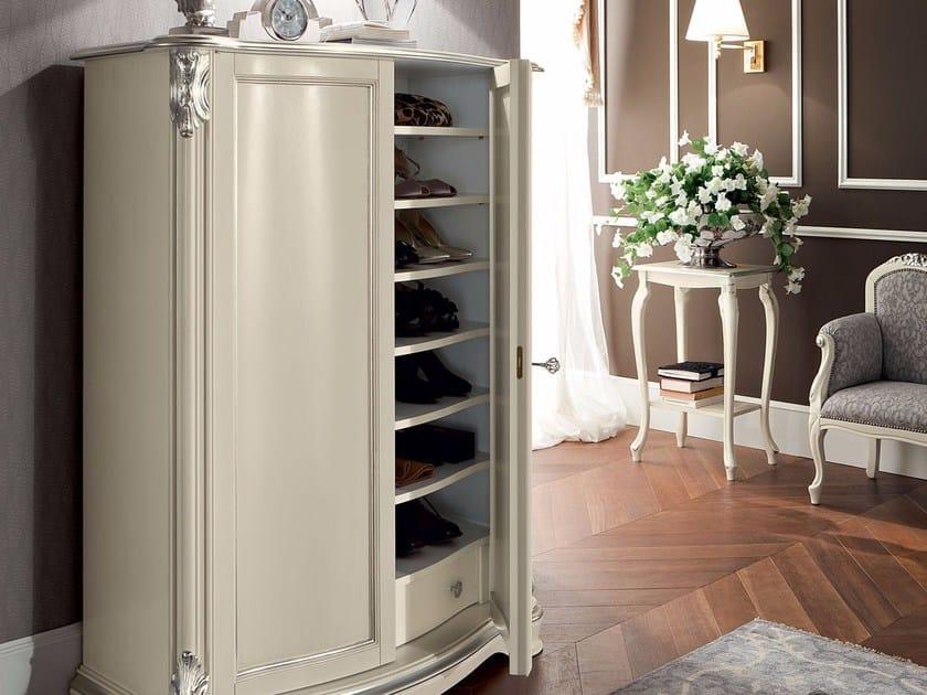 Wooden shoe cabinet 13612 | Shoe cabinet by Modenese Gastone
