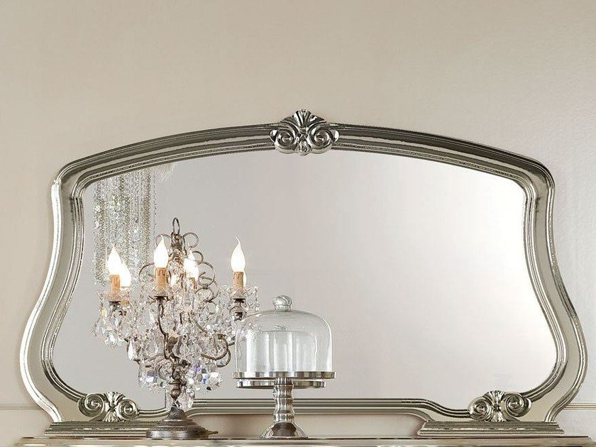 Wall-mounted framed mirror 13685 | Mirror by Modenese Gastone