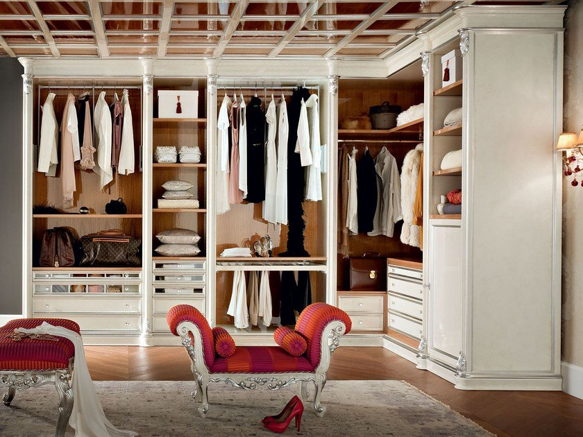 Walk-in wardrobe 13909 | Walk-in wardrobe by Modenese Gastone