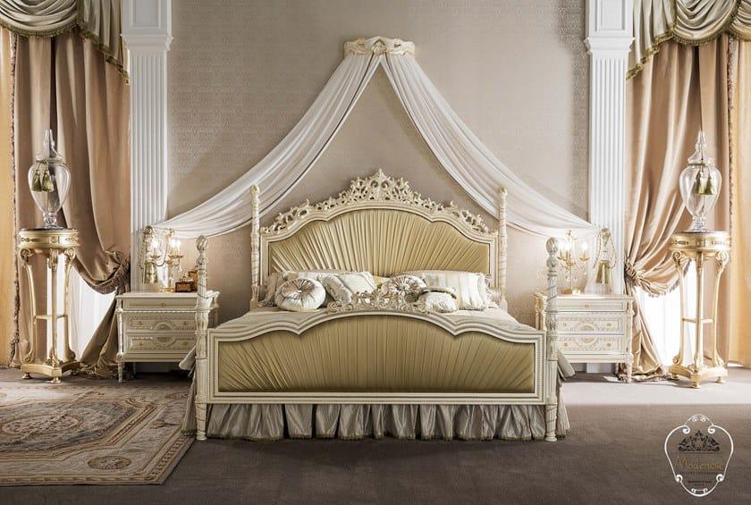 Modenese Matrimoniale Con Gastone Imbottita 14214Letto Testiera RL4q3j5A