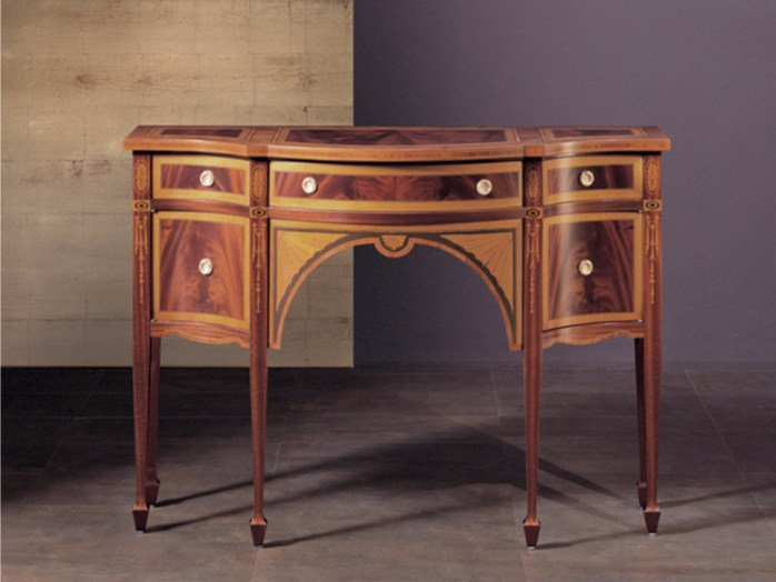 Wooden console table with drawers 145 | Console table by Rozzoni