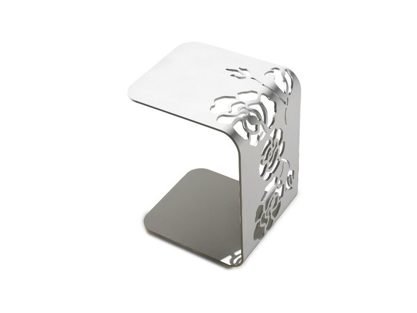 Metal side table 1450 ROSES   Coffee table by Vibieffe