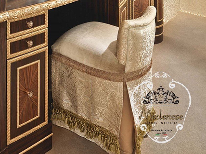 Upholstered fabric stool 14522 | Stool by Modenese Gastone
