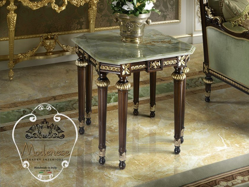 Square marble coffee table 14601 | Square coffee table by Modenese Gastone