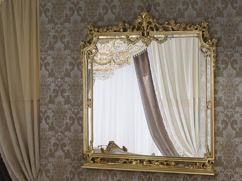 Rectangular wall-mounted mirror 14641 | Mirror by Modenese Gastone