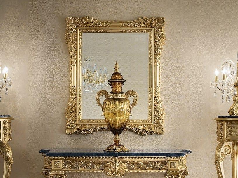 Rectangular wall-mounted mirror 14672 | Mirror by Modenese Gastone