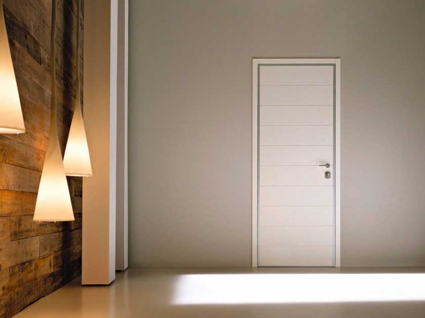 Safety door with concealed hinges MONOLITE - 15.1003 MNT6000 by Bauxt