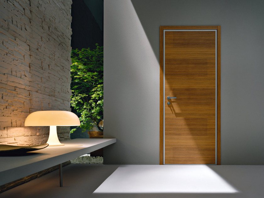 Safety door with concealed hinges MONOLITE - 15.1007 MNT6000 by Bauxt