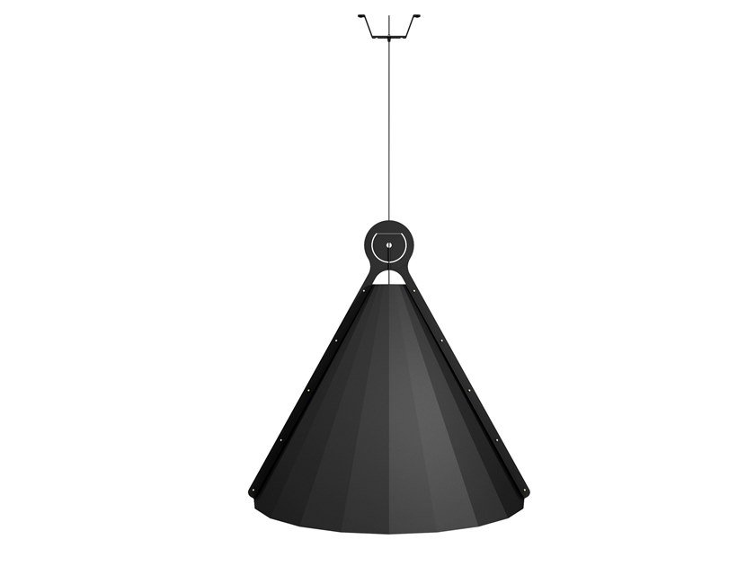 Steel pendant lamp 15.77 L by ODESD2