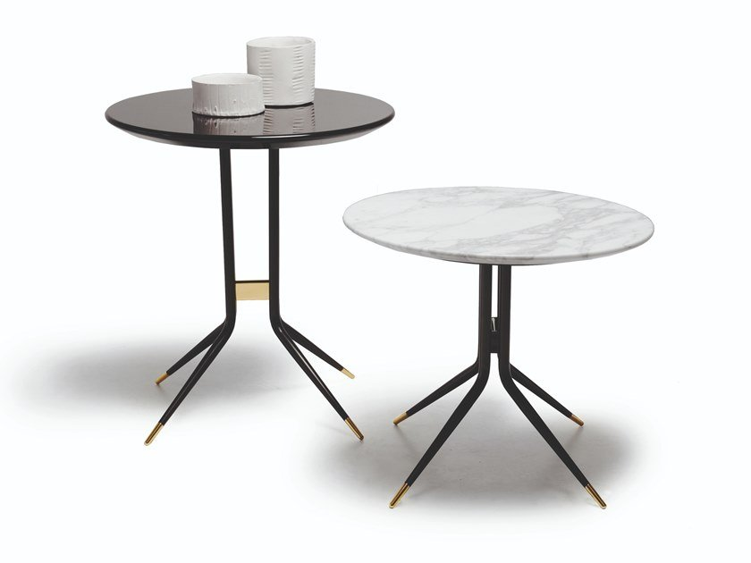 Round high side table 1500 SWING | Round coffee table by Vibieffe